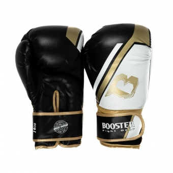Booster Fightgear | Bokshandschoenen | BT Sparring | V2 |Black/Gold