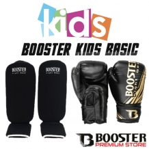 Booster Kickboks set basic zwart