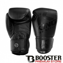 King Pro Boxing | Bokshandschoenen | KPB - BG 8 | Black on black
