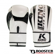 King Pro Boxing - Bokshandschoenen | PU Leather | Revo Wit