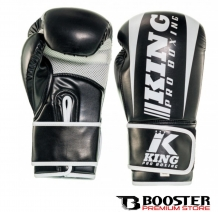 King Pro Boxing - Bokshandschoenen | PU Leather | Revo Zwart