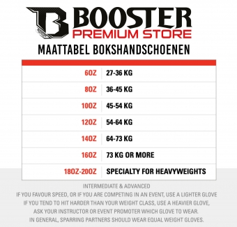 Booster Fightgear - Bokshandschoenen + Scheendekkers - Black on black